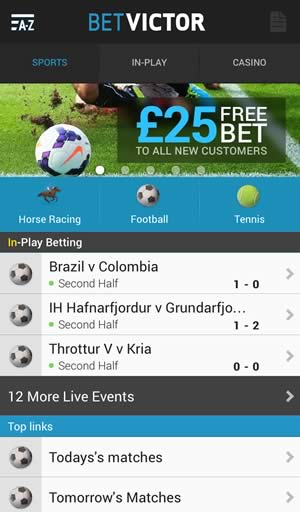 betvictor racing