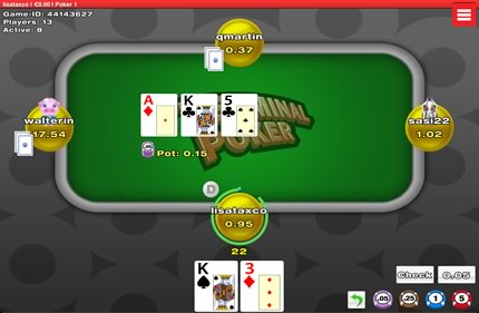 Play mobile poker at TerminalPoker