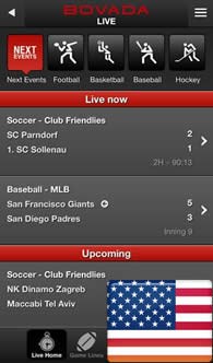 colledge football scores bovada live betting